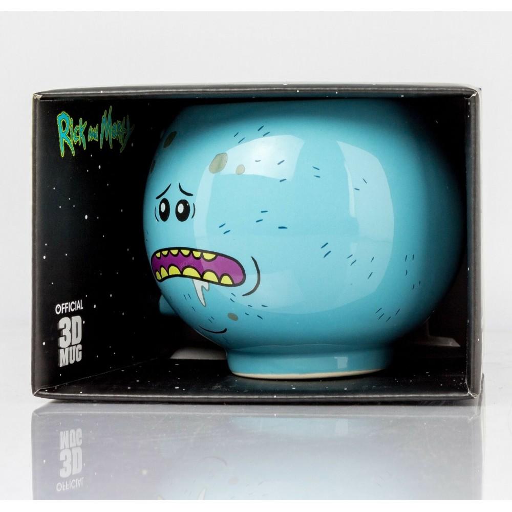 Rick And Morty Mr Meeseeks 3D Hrnček