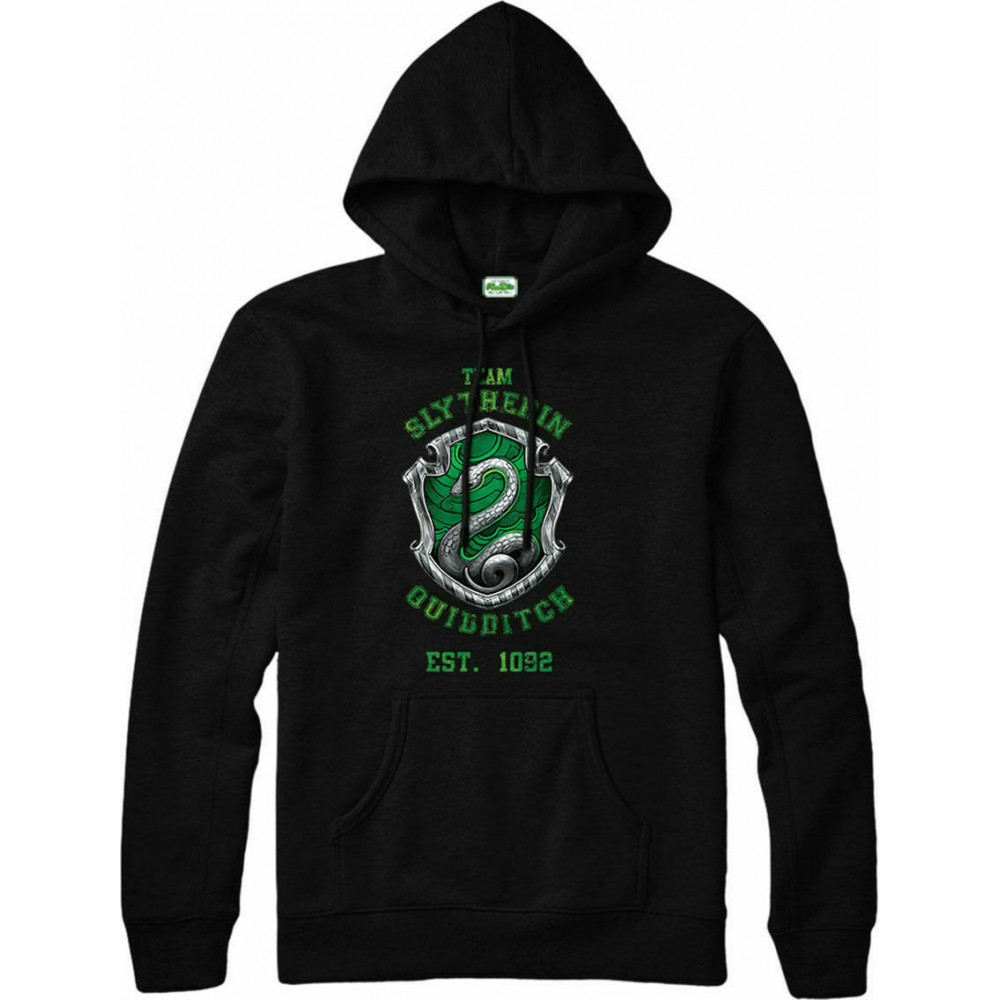 Harry Potter Slytherin Quidditch Team House Mikina