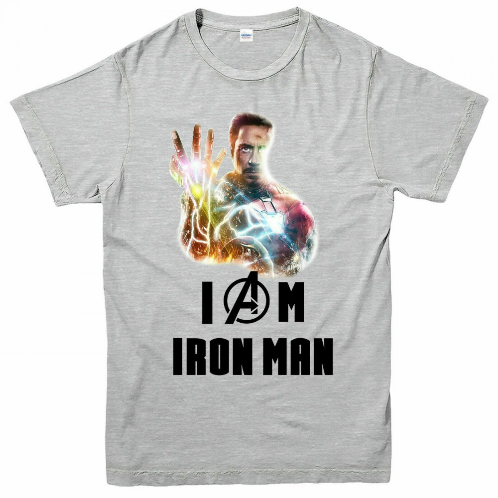 I Am Iron Man Tony Stark Avengers Tričko