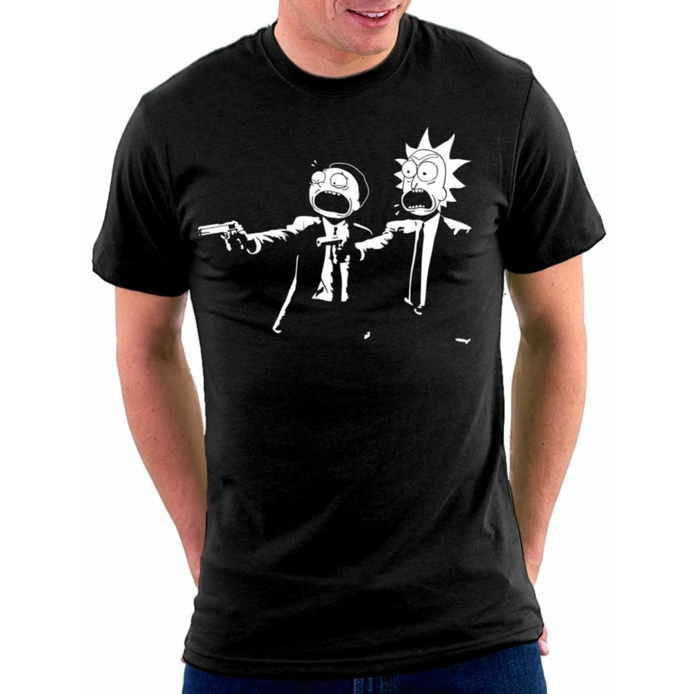 Rick And Morty Fiction Pánske tričko