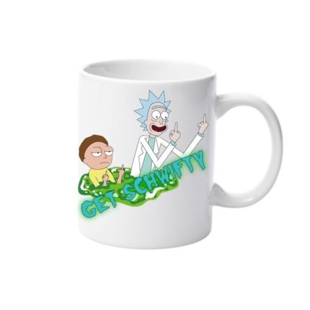 Rick And Morty Get Schwifty Hrnček
