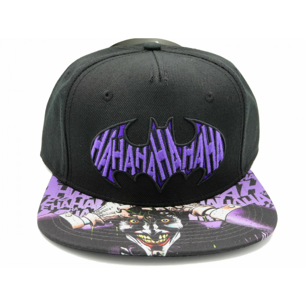 Joker Batman HaHa Sublimated Logo Snapback