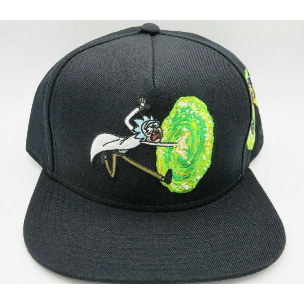 Rick And Morty Portal Snapback