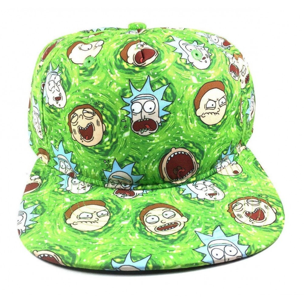 Rick And Morty Tváre Snapback