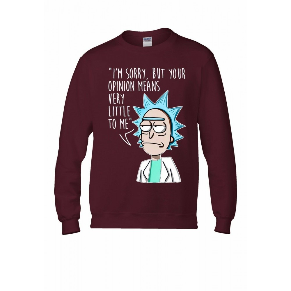 Rick And Morty Your Opinion Mikina