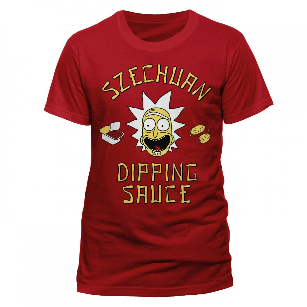 Rick And Morty Szechuan Dipping Sauce tričko